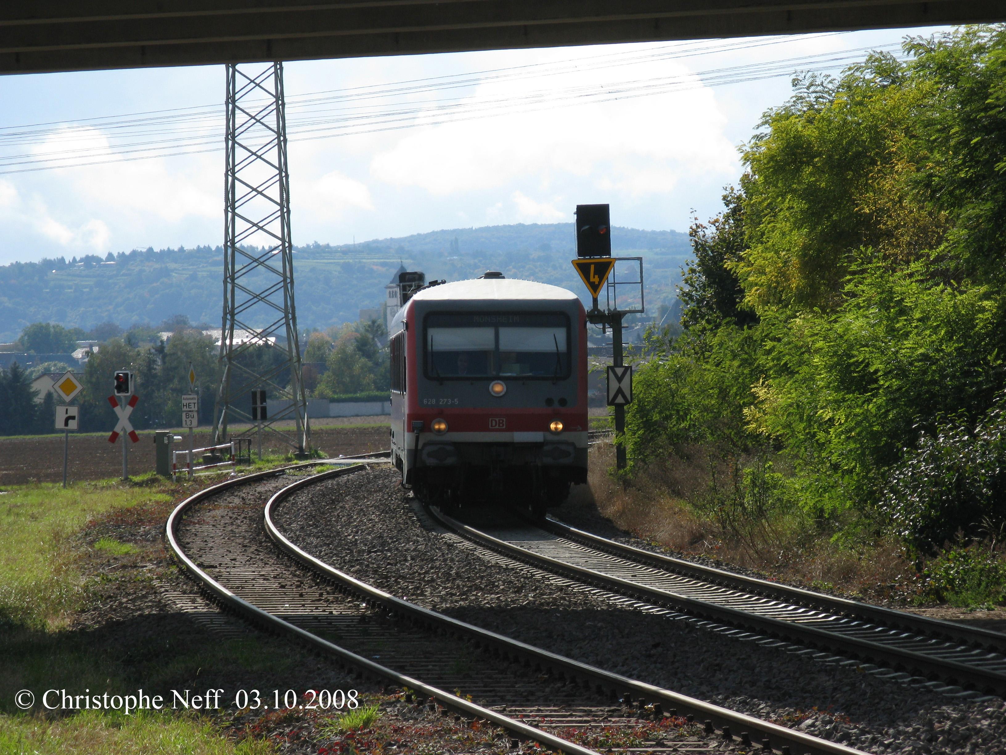628-273-5 zw. Grünstadt und Albsheim 03.10.2008