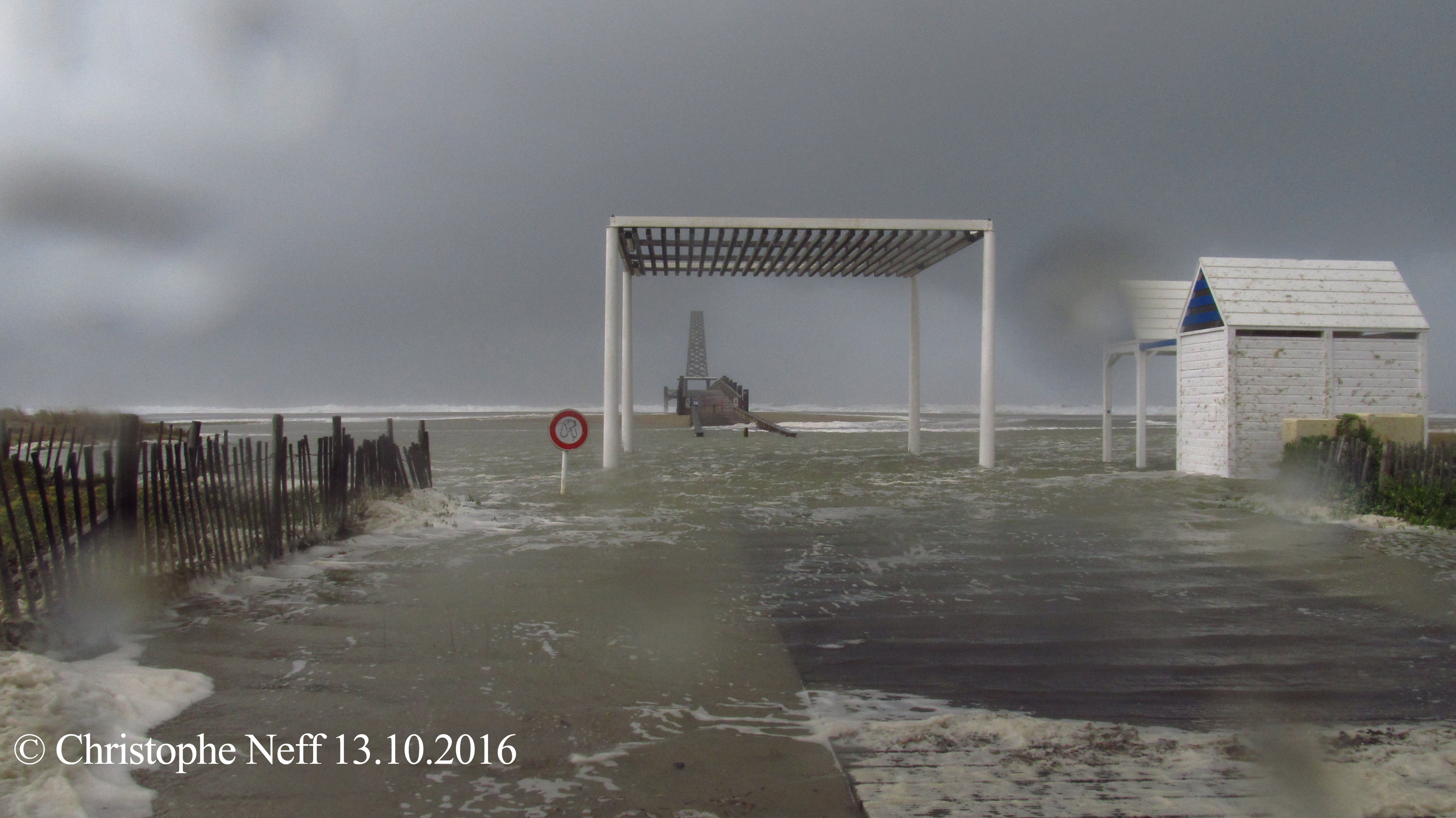 Port Leucate, le ponton 13.10.2016 vers 15H46