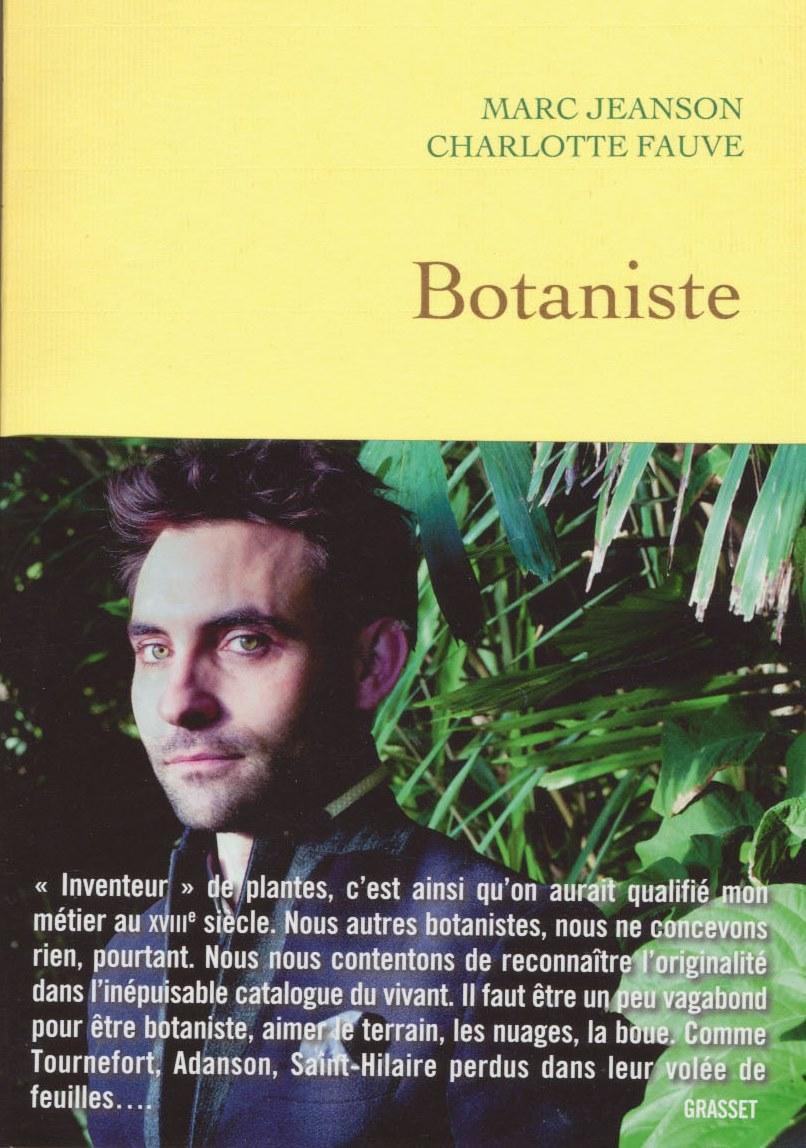 botaniste livre couverture bandeau
