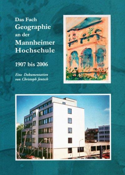 Buchdeckel das Fach Geographie an der Mannheimer Hochschule