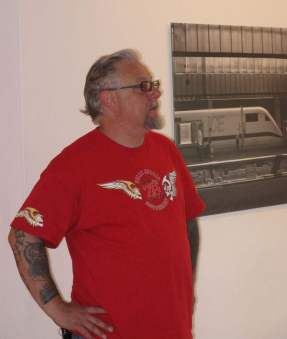 Lutz Schelhorn in der Kunststiftung Baden - Württemberg 16.7.2010