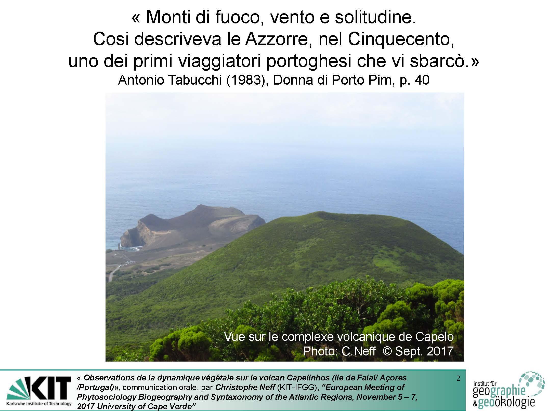 Observations de la dynamique végétale sur le volcan Capelinhos (Ile de Faial - Açores - Portugal)_Seite_02