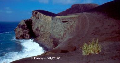 Blick auf Capelinhos Sept 1999