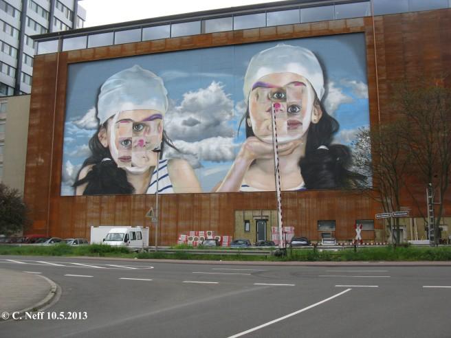 Kunst am Bau im Mannheimer Hafen