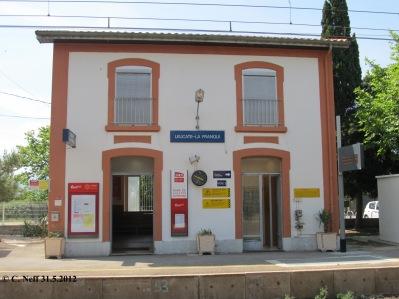 la gare de Leucate - la Franqui 31.5.2012