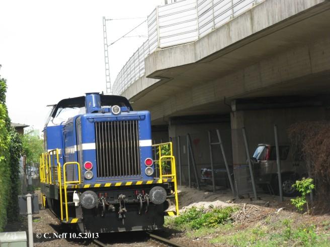 Mannheimer Hafenbahn - eine Lok der Rhenus Rail