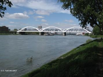 Rheinbrücken Ludwigshaden-Mannheim