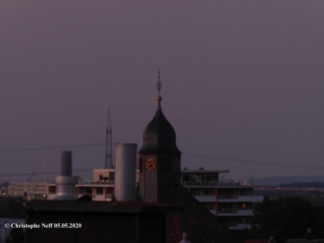 abendliche Himmelslandschaft Grünstadt 05.05.2020 um ca. 21.09