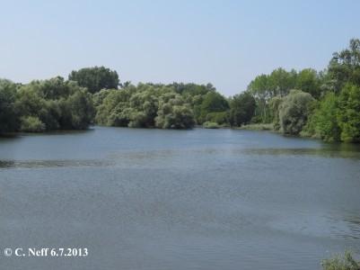 Le Lac de Munchhausen - la Sauer en crue 6.7.2013