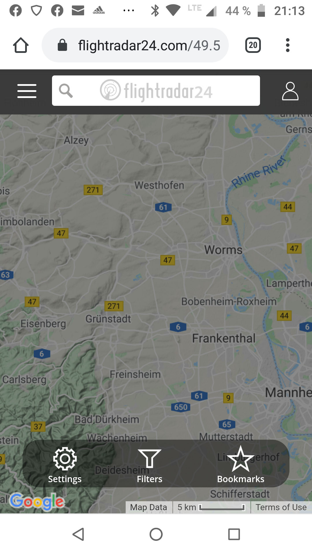 Screenshot_Flightradaer 20200505-211322